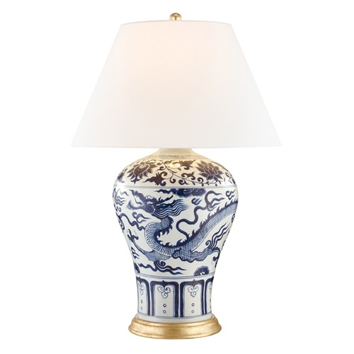 Hudson Valley Lighting Hudson Valley Lighting Plutarch Dragon Table Lamp with Empire Shade L1065-DG