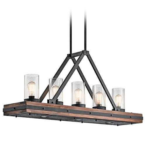 Kichler Lighting Kichler Lighting Colerne Island Light with Cylindrical Shade 43491AUB