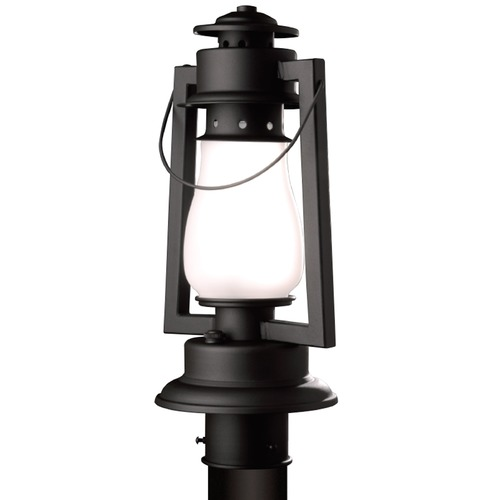 Sutters Mill Lantern Co Rustic Lantern Post Light- Textured Black 772-S-3-TB-FR