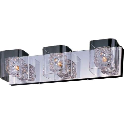 ET2 Lighting Gem Polished Chrome Bathroom Light E22833-18SVPC
