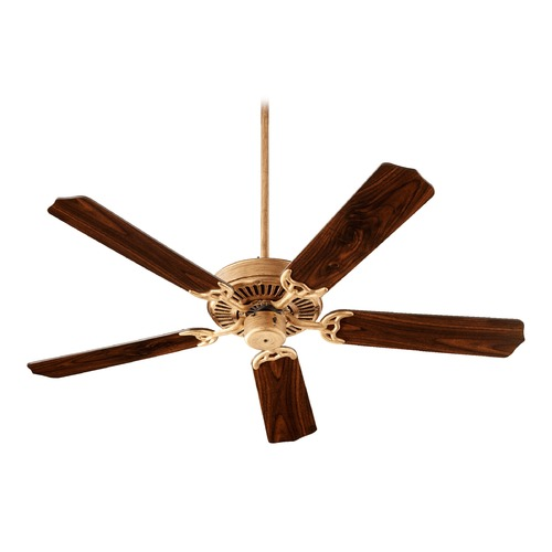 Quorum Lighting Quorum Lighting Capri I Vintage Gold Leaf Ceiling Fan Without Light 77525-30