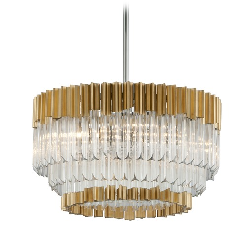 Corbett Lighting Corbett Lighting Charisma Gold Leaf Pendant Light 220-410