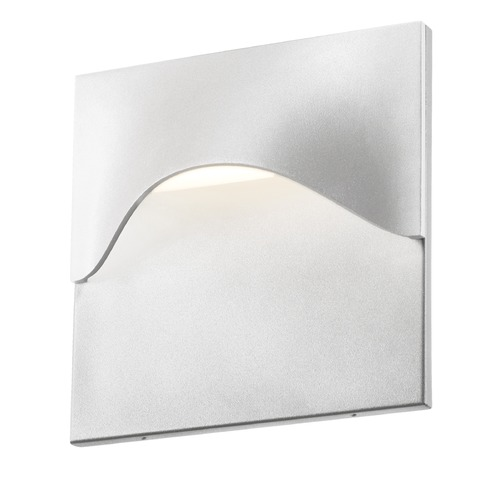 Sonneman Lighting Sonneman Tides Textured White LED Outdoor Wall Light 7237.98-WL