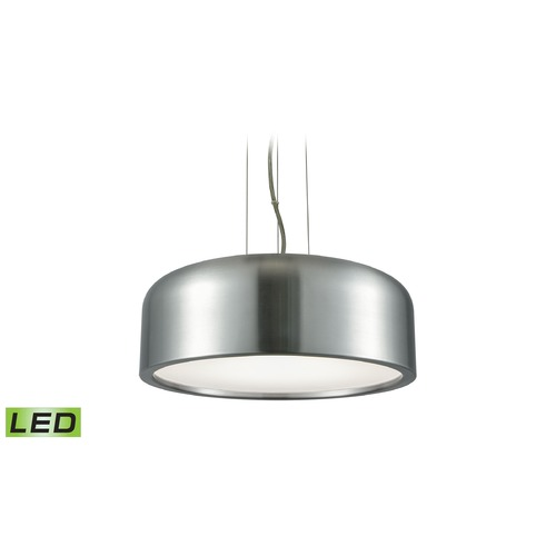 Alico Industries Lighting Alico Lighting Kore Aluminum LED Pendant Light with Bowl / Dome Shade LC2101-N-98