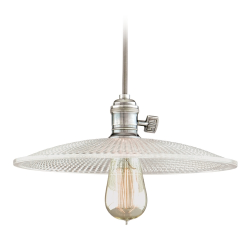 Hudson Valley Lighting Mini-Pendant Light with Clear Glass 8002-HN-GS4