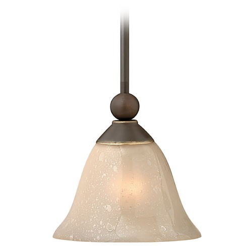 Hinkley Lighting Mini-Pendant with Bell Shade 4667OB