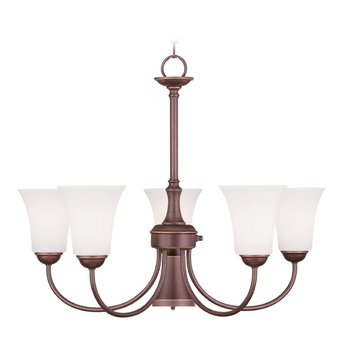 Livex Lighting Livex Lighting Ridgedale Vintage Bronze Chandelier 6465-70