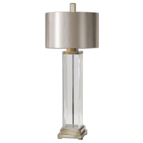 Uttermost Lighting Uttermost Drustan Clear Glass Table Lamp 26160-1