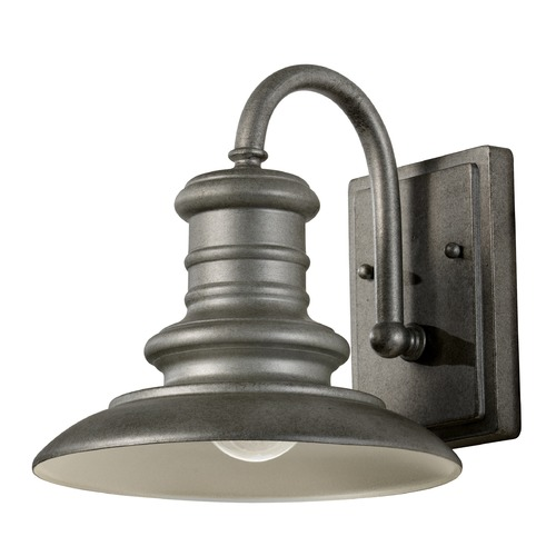 Feiss Lighting Feiss Lighting Redding Station Tarnished LED Outdoor Wall Light OL8600TRD-LED