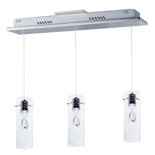 ET2 Lighting Solitaire 3-Light LED Pendant E21113-18PC