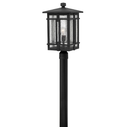 Hinkley Lighting Hinkley Lighting Tucker Museum Black Post Light 1961MB
