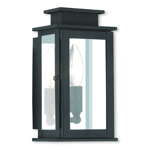 Livex Lighting Livex Lighting Princeton Black Outdoor Wall Light 20191-04
