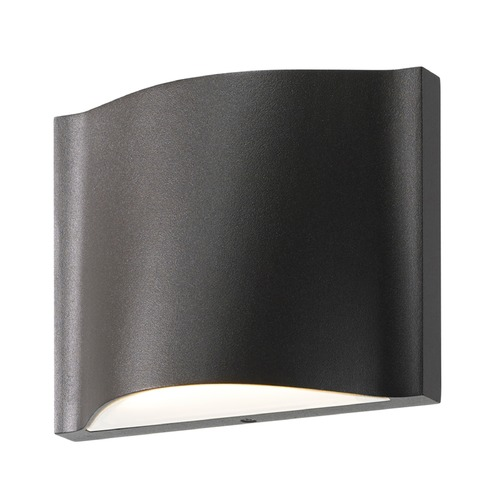 Sonneman Lighting Sonneman Drift Textured Bronze LED Outdoor Wall Light 7238.72-WL
