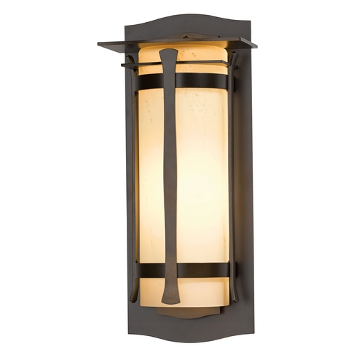 Hubbardton Forge Lighting Hubbardton Forge Lighting Sonoran Mahogany Outdoor Wall Light 307110-SKT-03-HH0249