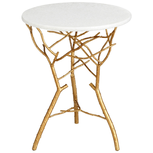 Cyan Design Cyan Design Langley Gold Leaf Table 05116