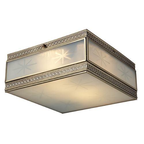 Elk Lighting Elk Lighting Conley Brushed Brass Flushmount Light 22040/2