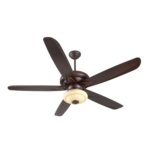 Craftmade Lighting Craftmade Lighting Zena Oiled Bronze Gilded Ceiling Fan with Light K11158