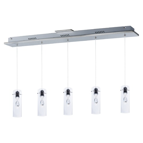 ET2 Lighting Solitaire 5-Light LED Pendant E21115-18PC