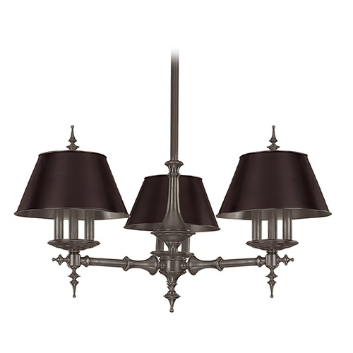 Hudson Valley Lighting Hudson Valley Lighting Cheshire Antique Nickel Chandelier 9523-AN