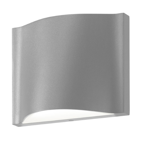 Sonneman Lighting Sonneman Drift Textured Gray LED Outdoor Wall Light 7238.74-WL