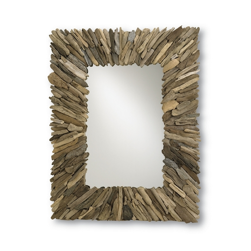 Currey and Company Lighting Beachhead Rectangle 40-Inch Mirror 4344