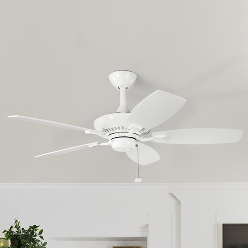 Kichler Lighting Kichler 44-Inch Ceiling Fan with Five Blades 300107WH