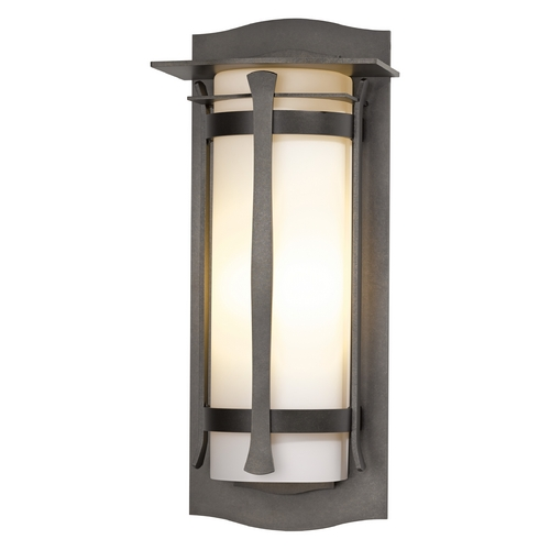 Hubbardton Forge Lighting Hubbardton Forge Lighting Sonoran Dark Smoke Outdoor Wall Light 307115-SKT-07-GG0248