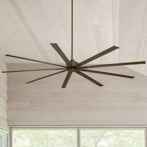 Minka Aire 96-Inch Minka Aire Xtreme Oil Rubbed Bronze Ceiling Fan Without Light F887-96-ORB