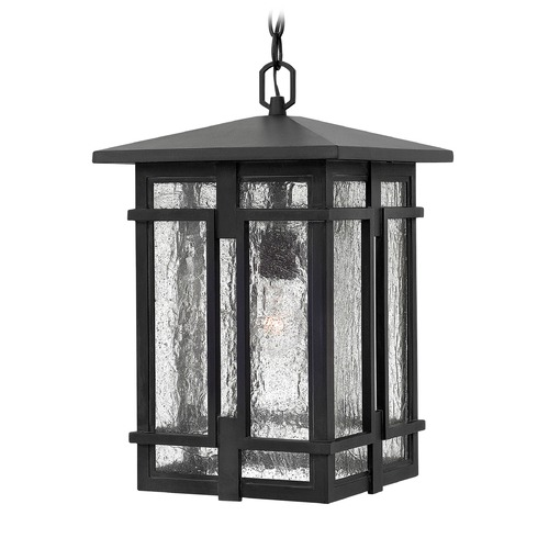 Hinkley Lighting Hinkley Lighting Tucker Museum Black Outdoor Hanging Light 1962MB