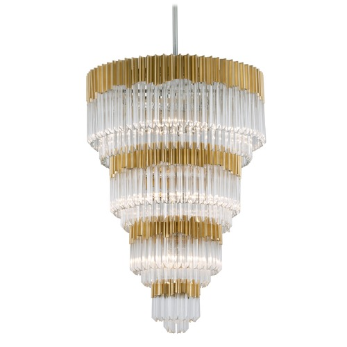 Corbett Lighting Corbett Lighting Charisma Gold Leaf Pendant Light 220-717