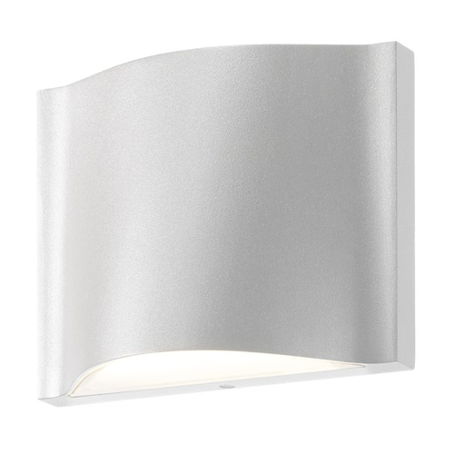Sonneman Lighting Sonneman Drift Textured White LED Outdoor Wall Light 7238.98-WL