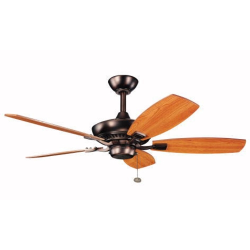 Kichler Lighting Kichler 44-Inch Ceiling Fan with Five Blades 300107OBB