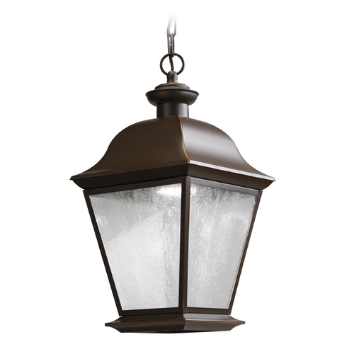 Kichler Lighting Kichler Lighting Mount Vernon Olde Bronze LED Outdoor Hanging Light 9809OZLED