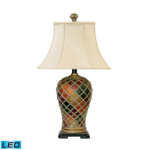 Dimond Lighting Dimond Lighting Bellevue LED Table Lamp with Bell Shade 91-152-LED