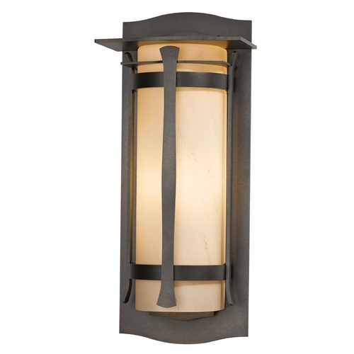 Hubbardton Forge Lighting Hubbardton Forge Lighting Sonoran Dark Smoke Outdoor Wall Light 307115-07-H248