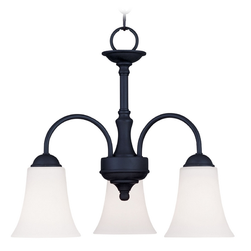 Livex Lighting Livex Lighting Ridgedale Black Mini-Chandelier 6464-04