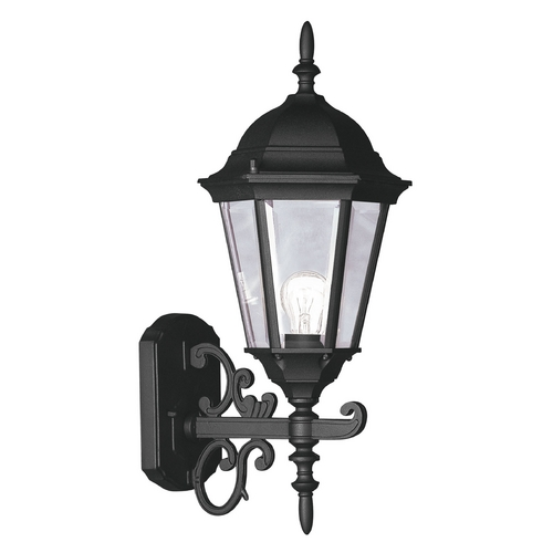 Livex Lighting Livex Lighting Hamilton Black Outdoor Wall Light 7556-04