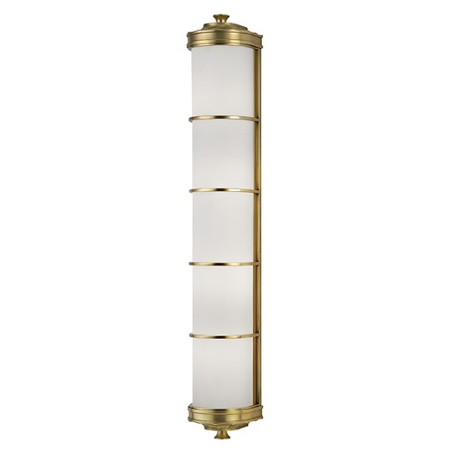Hudson Valley Lighting Albany 4 Light Sconce - Aged Brass 3833-AGB