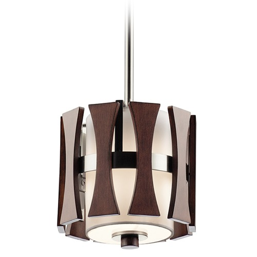 Kichler Lighting Kichler Lighting Cirus Mini-Pendant Light with Cylindrical Shade 43755AUB