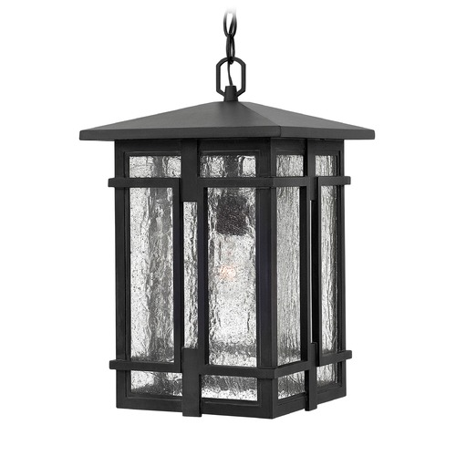 Hinkley Lighting Hinkley Lighting Tucker Museum Black LED Outdoor Hanging Light 1962MB-LED