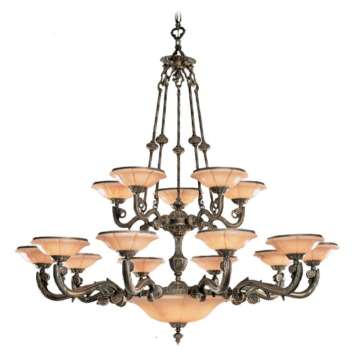 Crystorama Lighting Crystorama Lighting Hot Deal Weathered Patina Chandeliers with Center Bowl 879-WH