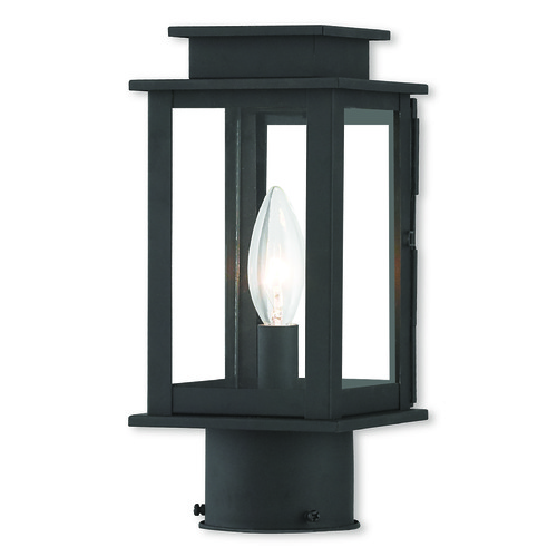 Livex Lighting Livex Lighting Princeton Black Post Light 20201-04