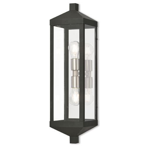 Livex Lighting Livex Lighting Nyack Black Outdoor Wall Light 20583-04