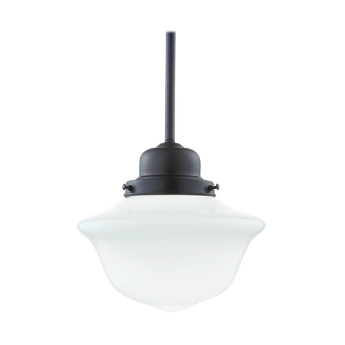 Hudson Valley Lighting Mini-Pendant Light with White Glass 19-OB-1609