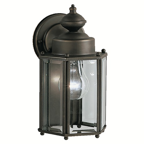 Kichler Lighting Kichler Outdoor Wall Light with Clear Glass in Olde Bronze Finish 9618OZ