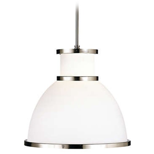Philips Lighting Metal Banded Pendant Light F46036