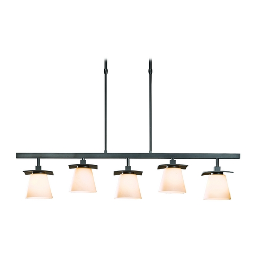 Hubbardton Forge Lighting Iron Pendant Light - Five Lights 136605-SKT-STND-07-HH0242