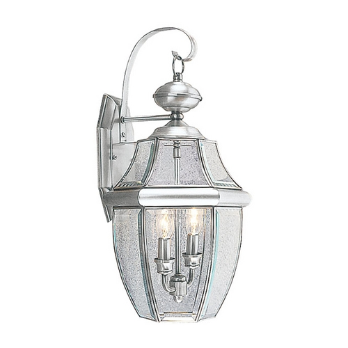 Livex Lighting Livex Lighting Monterey Brushed Nickel Outdoor Wall Light 2251-91