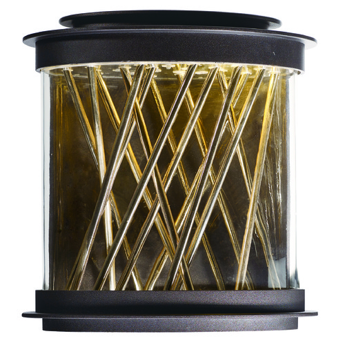 Maxim Lighting Maxim Lighting Bedazzle Galaxy Bronze, French Gold LED Outdoor Wall Light 53495CLGBZFG