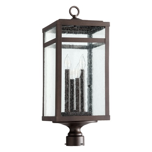 Quorum Lighting Quorum Lighting Clermont Oiled Bronze Post Light 775-4-86